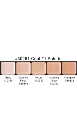 HD Glam Creme Palette Cool #1