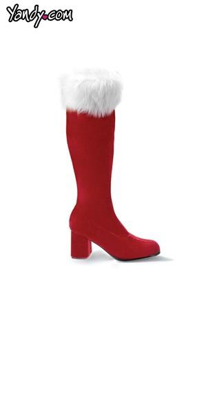 Quot heel santa style go boot mrs claus
