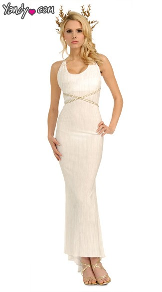Grecian Aphrodite Costume, Grecian Goddess Costume, Greek Goddess Costume