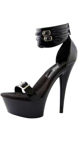 "6"" Platform Shoe With Ankle Cuff"