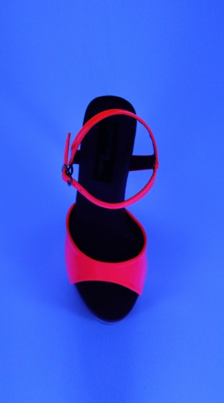 "6"" Platform With Neon UV Reactive Upper And Bottom"