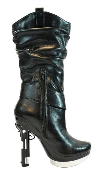 Handgun Heel Boot Gun Boot Gun Heel Boots
