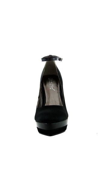 "5"" Covered Platform Pump With Ankle Strap"