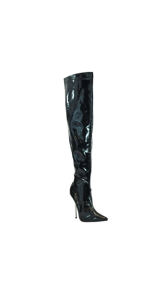5 1 2 quot thigh high stretch boot
