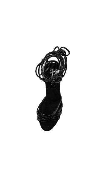 "6"" Strappy Platform With Ankle Tie"