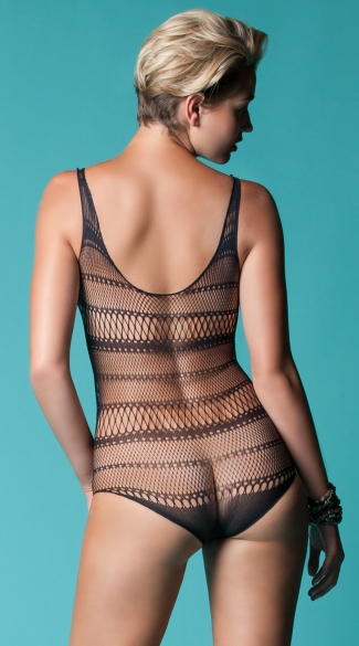 Sheer Multi Stripe Teddy