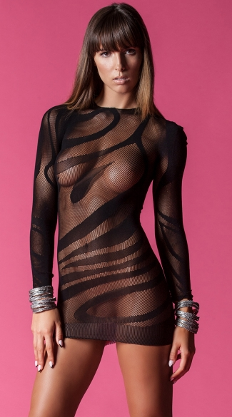 Dangerous Curves Long Sleeve Chemise