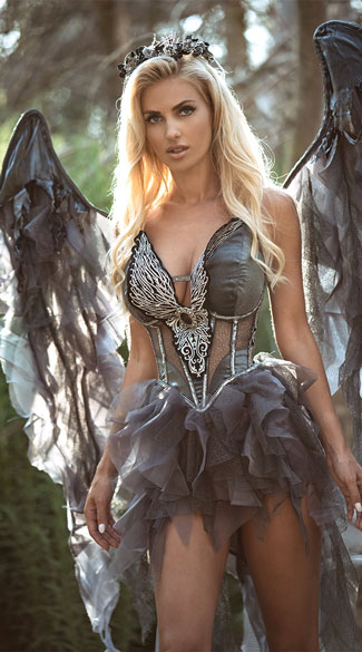 Deluxe Dark Angel Costume