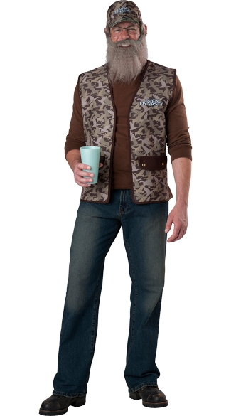 Duck Dynasty Uncle Si Costume, Duck Dynasty Costume, AE Duck Dynasty Mens Costume