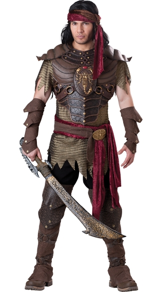 Men\'s Scorpion Warrior Costume, Mens Deluxe Warrior Costume