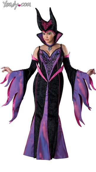 Plus Size Deluxe Fairytale Witch Costume