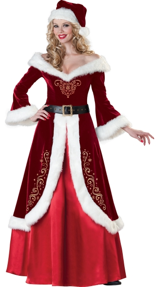 Deluxe Mrs. Claus Costume