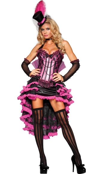 Deluxe Burlesque Beauty Costume