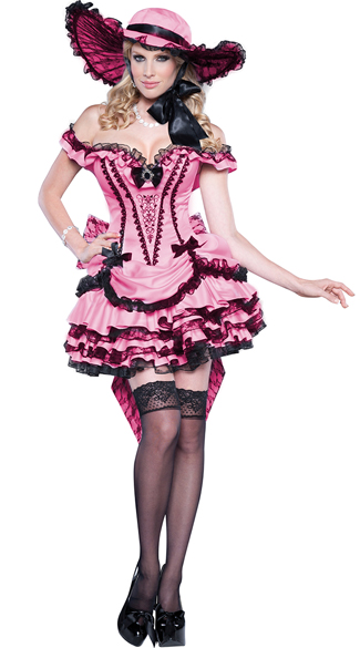 Deluxe Southern Belle Costume, Dixie Darling Costume