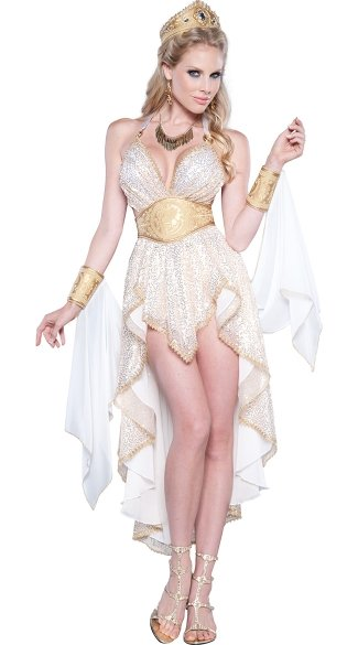 Deluxe Golden Goddess Costume
