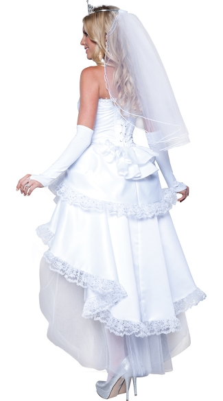 Deluxe Blushing Bride Costume