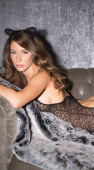 On The Prowl Leopard Print Chemise