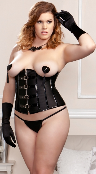 Plus Size Buckle Waist Cincher