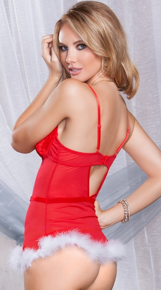 Holiday Hottie Chemise Set