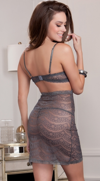 Silver Lining Lace Chemise