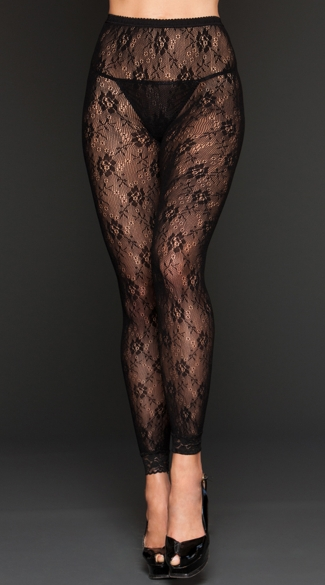 Shop for BLACK 1X Plus Size Floral Lace Trim Leggings online at $ and discover fashion at nichapie.ml Cheapest and Latest women & men fashion site including categories such as dresses, shoes, bags and jewelry with free shipping all over the world.