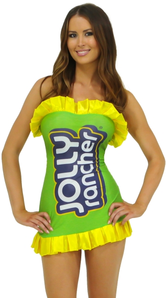 Green Jolly Rancher Costume