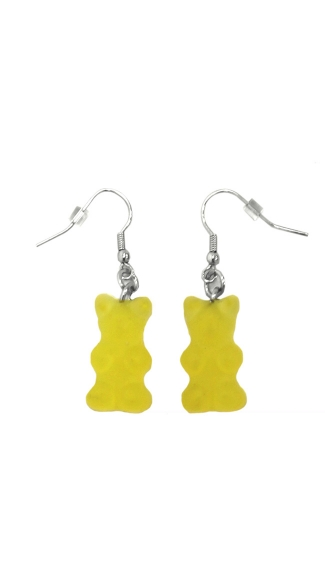 Gummy Bear Earrings, Candy Earring, Candy Jewelry