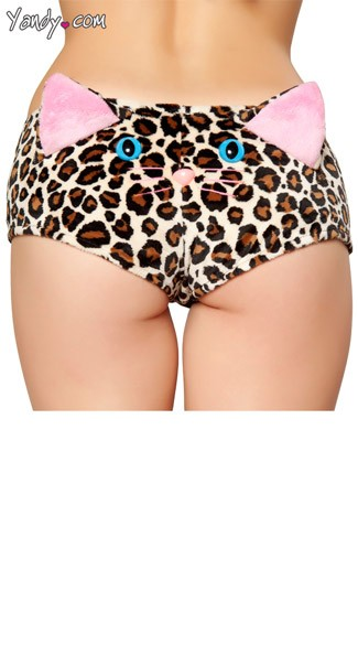 Leopard Print Cuddle Short and Top