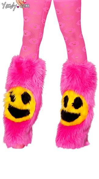 Happy Face Legwarmers