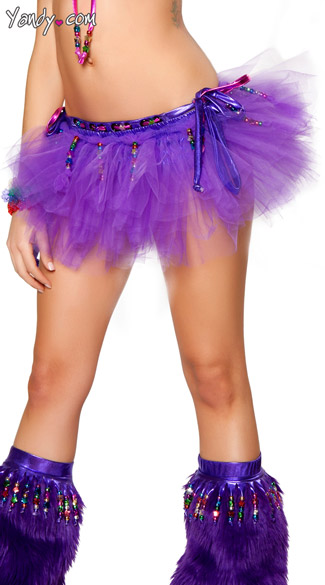 Beaded Tutu, Tulle Tu Tu, Tutu Skirt with Beading