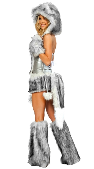 Sexy Wolf Corset, Skirt and Tail