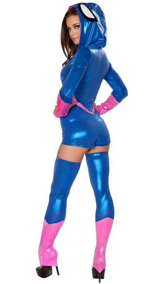 Pink and Blue Spider Costume