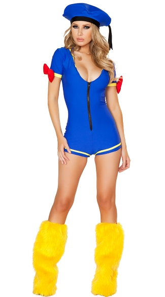 Sexy Cartoon Duck Costume, Sexy Duck Costume, Ahoy Ducky Costume