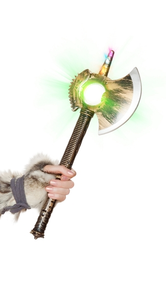 Light-Up Axe