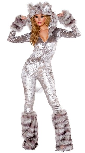 Sexy American Wherewolf Costume, Sexy Wolf Costume, Sexy Werewolf Costume, Gray Wolf Legwarmers, Furry Legwarmers, Gray Legwarmers, Furry Wolf Gloves, Costume Wolf Gloves, Fur Wolf Gloves, Wolf Costume Gloves