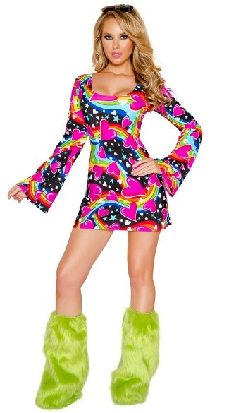 Happy Hippie Dress Costume