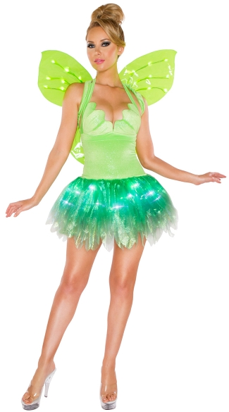 Light-Up Frolicking Faerie Costume, Sexy Fairy Costume ...