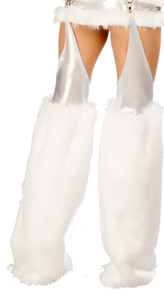 Faux Fur Chaps with Hooks