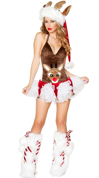 Sexy Reindeer Costume, Sexy Deer Costume, Holiday Reindeer Outfit