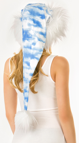 Long Cloud Santa Hat