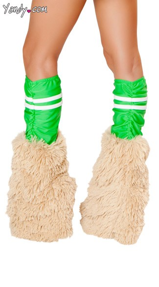 Green Sporty Legwarmers
