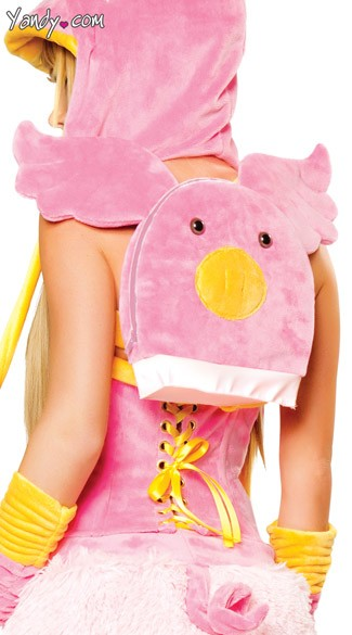 Piggy Backpack, Pig Costume Bag, Pig Back Pack
