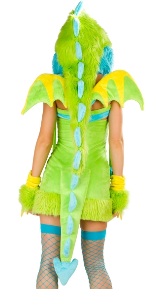 Deluxe Puff The Dragon Dress