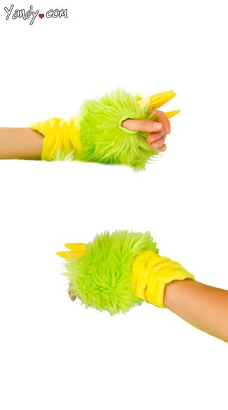 Deluxe Puff The Dragon Gloves
