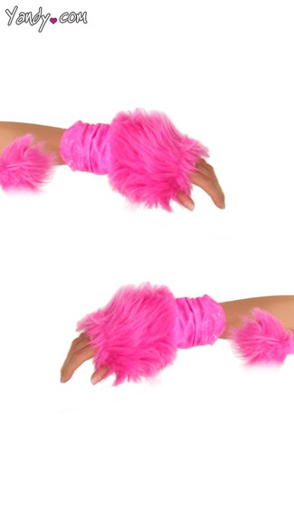 Deluxe Hot Pink Unicorn Gloves