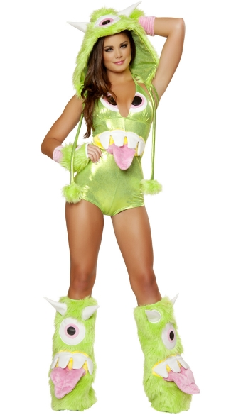 One Eyed Monster Romper