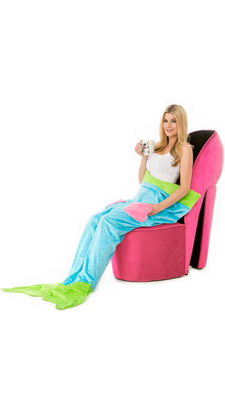 Exclusive Turquoise Cuddle Mermaid Blanket