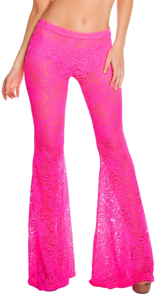 Cyclone Lace Bell Bottom Pant