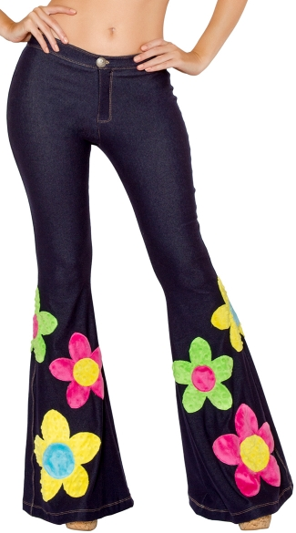Flower Power Bell Bottom Pant