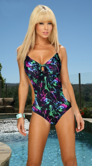 Black Smoke Monokini